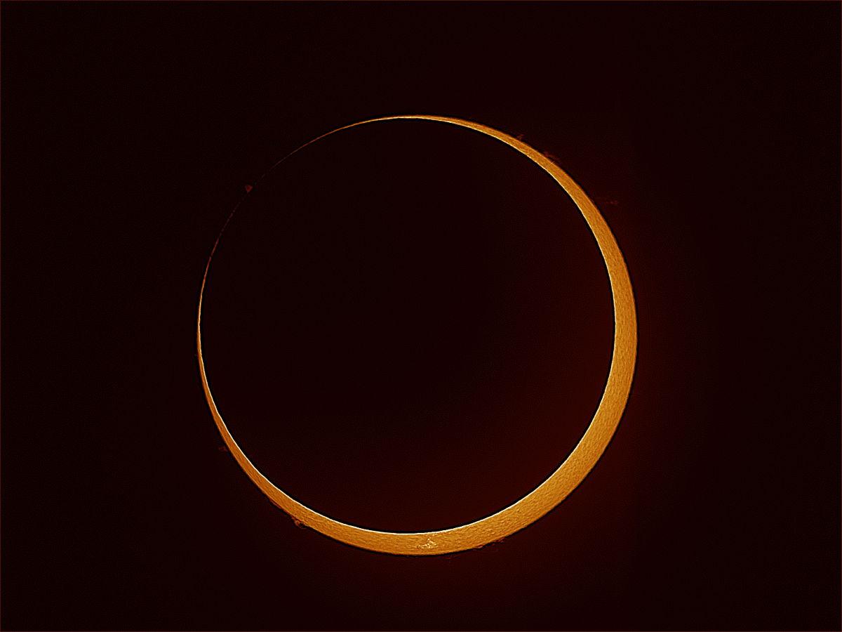 See a 'Ring of Fire' Annular Solar Eclipse Thursday Via Slooh Webcast