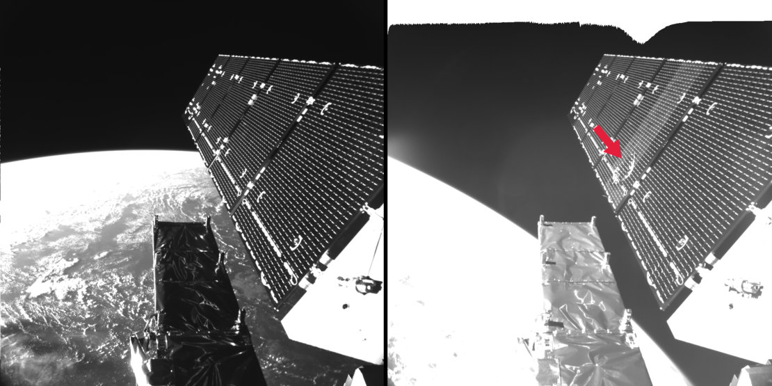 European Satellite Hit by Space Particle (Photos, Video)