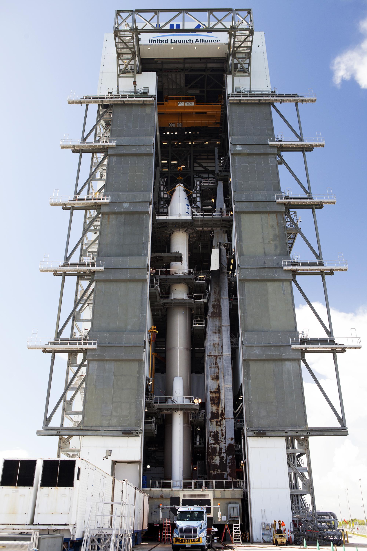 OSIRIS-REx Mated with Atlas V Rocket