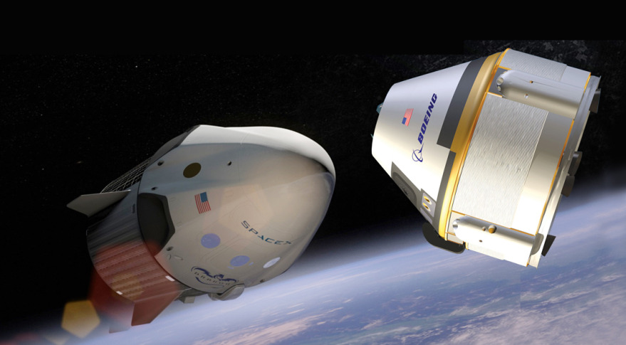 Dragon and CST-100