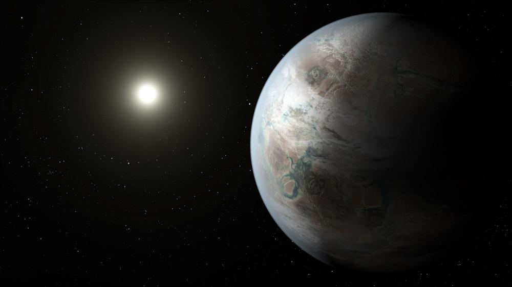 Planet Kepler-452b concept art