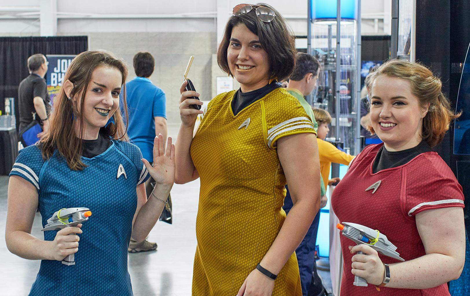 What Makes a 'Star Trek' Fan? Costumed Trekkies Share Stories (Slideshow)