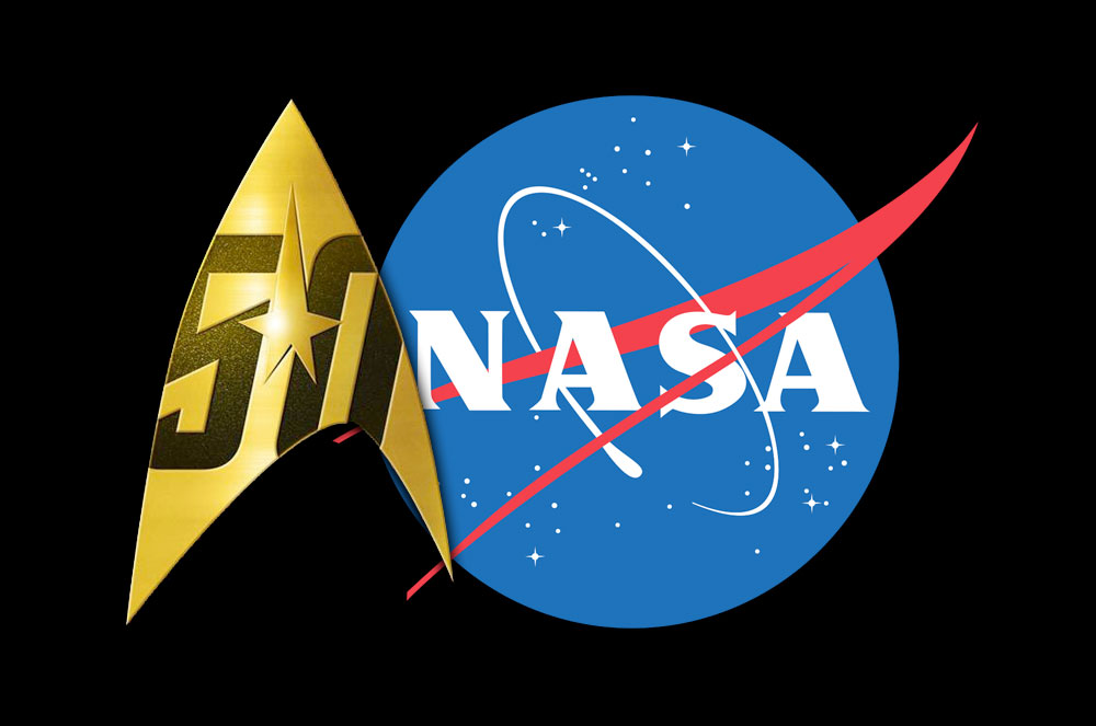 'Star Trek' and NASA: 50 Years of Fictional and Factual Space Crossovers