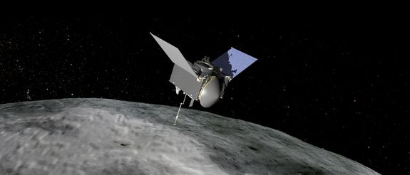 On Sept. 8, 2016, the OSIRIS-REx spacecraft departs for a rendezvous with asteroid Bennu. Once there, it will study the asteroid for a year, and then collect a sample and return it to earth in 2023.