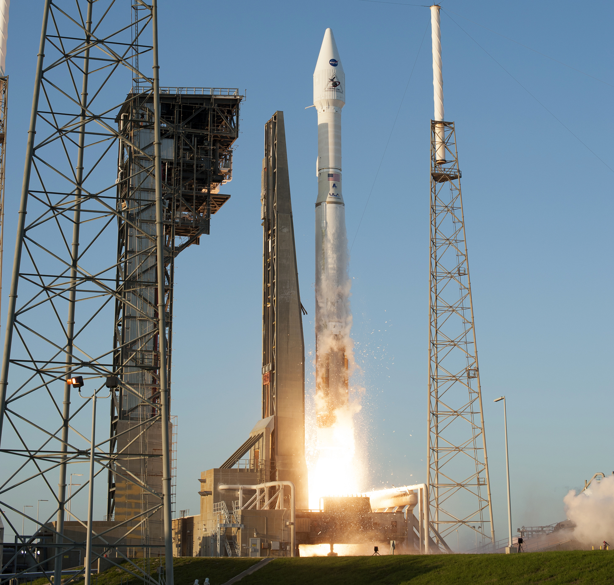The OSIRIS-REx spacecraft began its journey to an asteroid on Sept. 8, when it lifted off from Cape Canaveral Air Force Station in Florida, atop an Atlas V rocket.