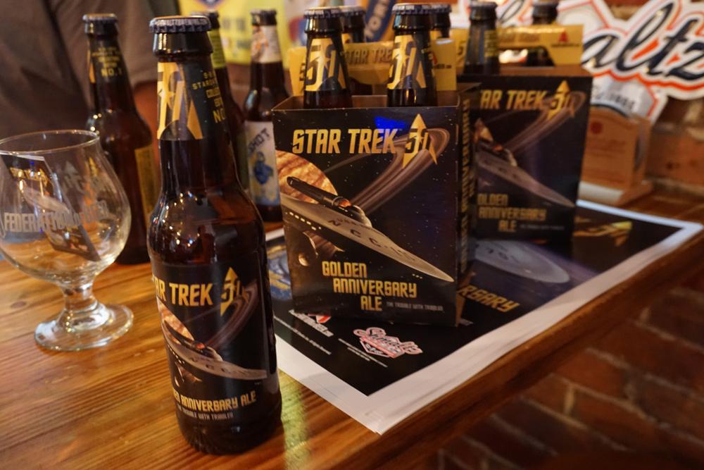 For 'Star Trek' Golden Anniversary, Golden Ales to Quaff