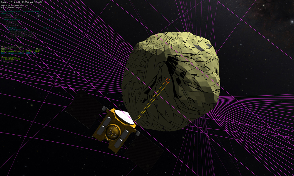 Journey to an Asteroid: 3D Software Plots OSIRIS-Rex's Complex Route
