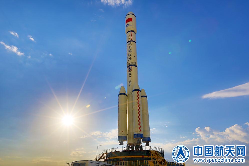 Behold, Tiangong-2's Rocket