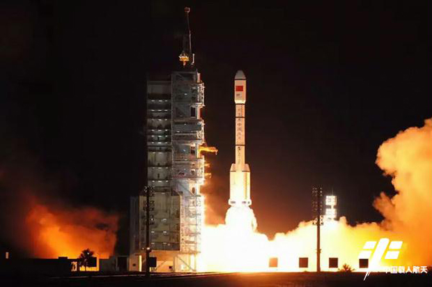 Liftoff for Tiangong-2!