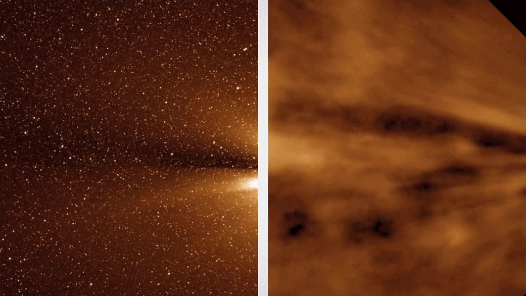 NASA Probe Sees the Edge of the Sun, Birthplace of the Solar Wind