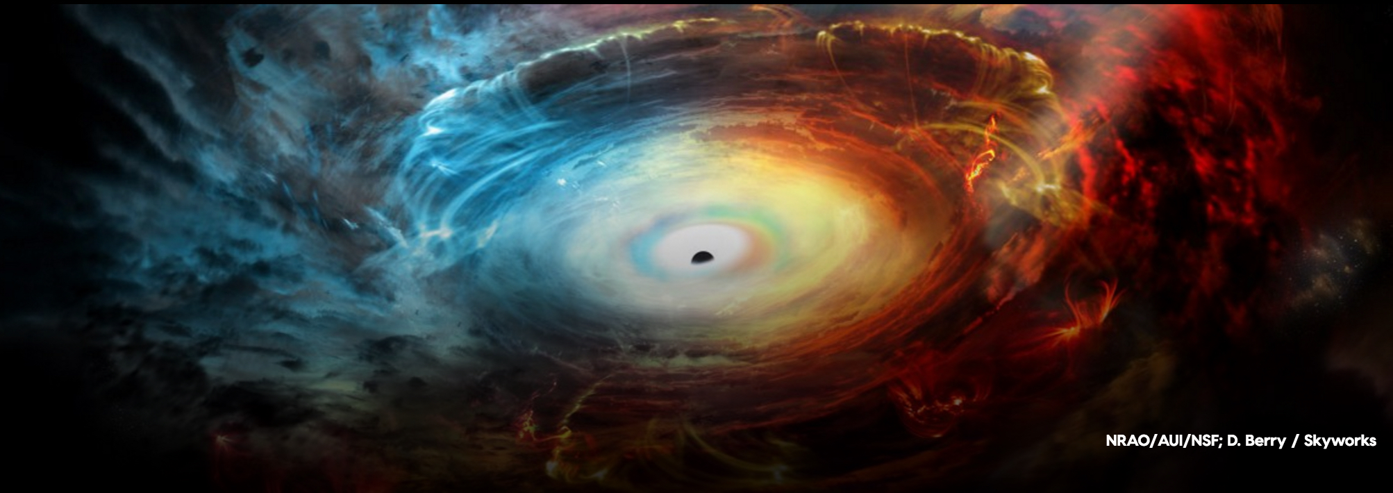 Black Hole 'Engine' Cloaks Itself in Exhaust Fumes