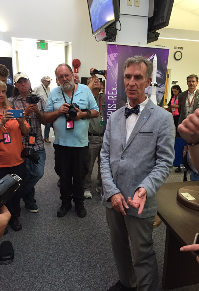 Bill Nye at NASA's Kennedy Space Center