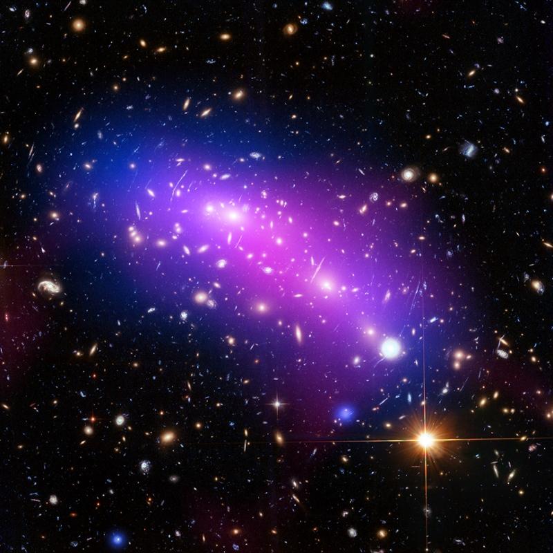 MACS J0416 galaxy cluster