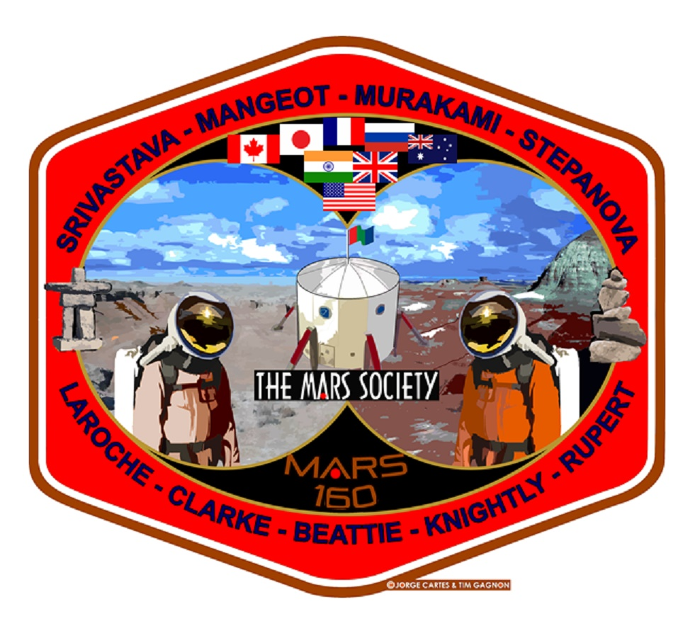 Patch for Mars Society's Mars 160 mission
