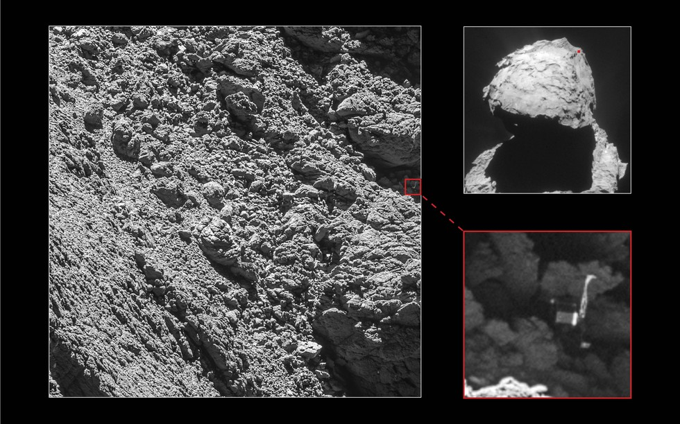 Lost and Found at Comet 67P
