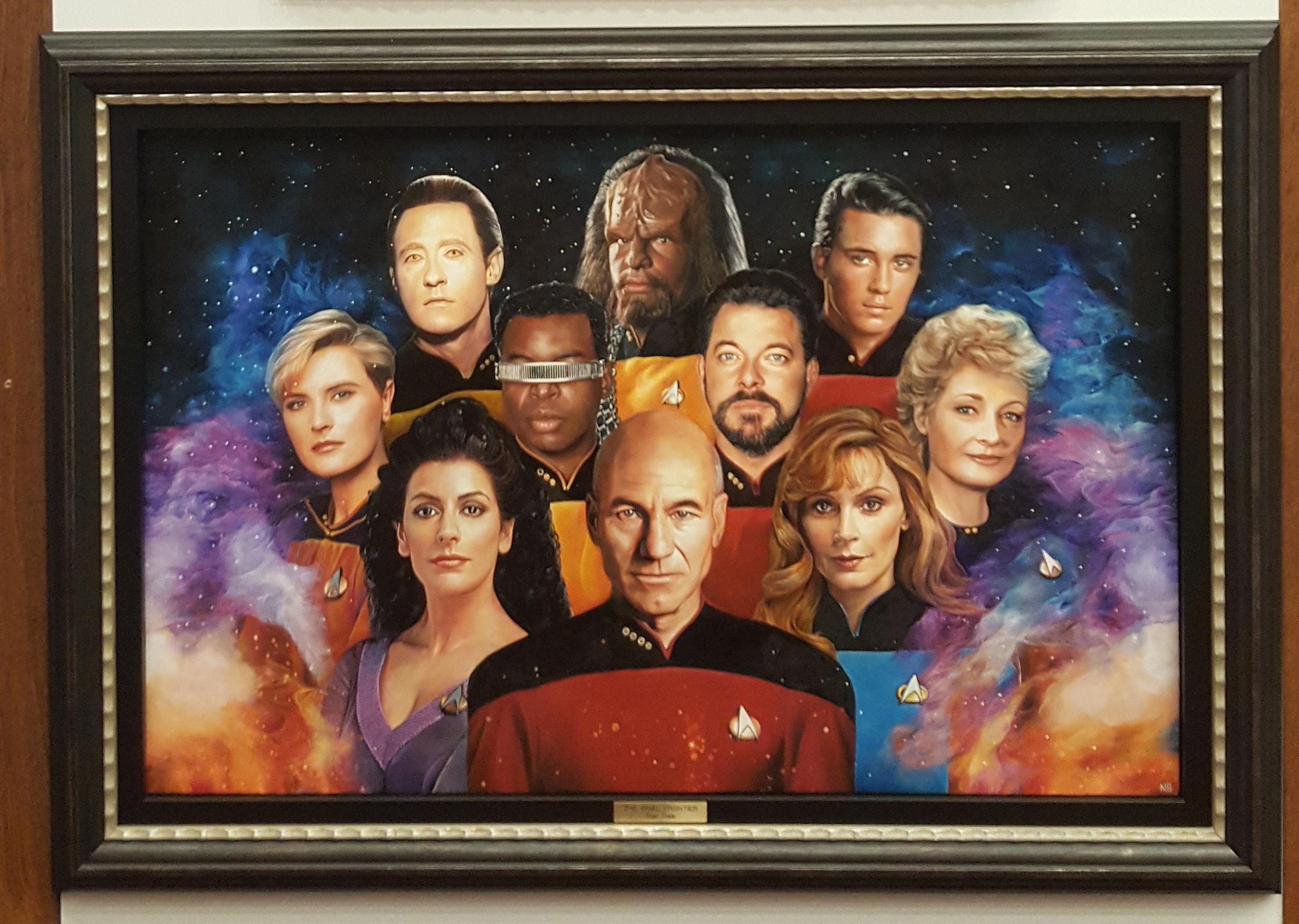 'Star Trek': 50 Artists. 50 Years. (A Sci-Fi Art Slideshow)