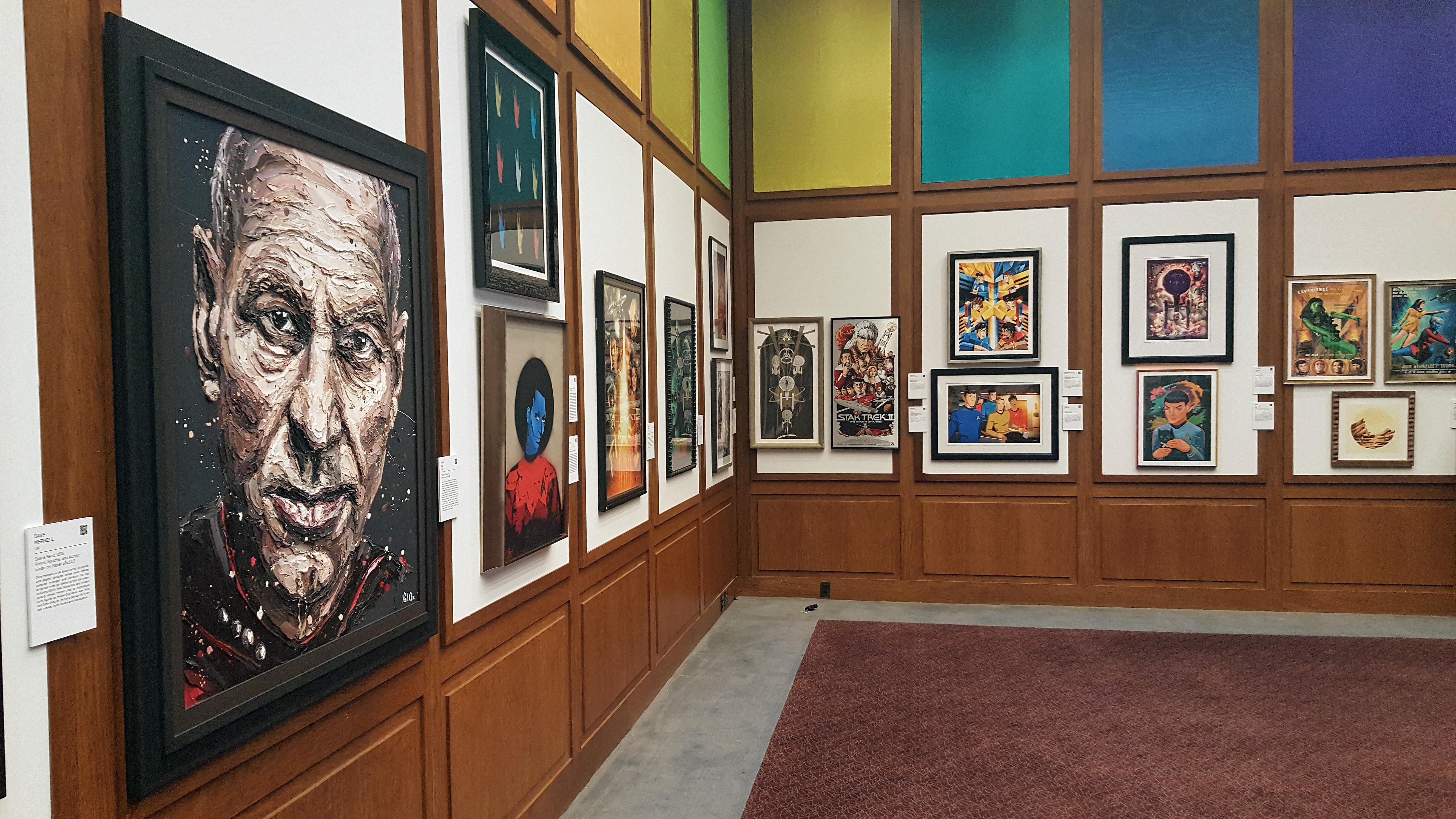 'Star Trek' Celebrates 50th Anniversary With Traveling Art Gallery
