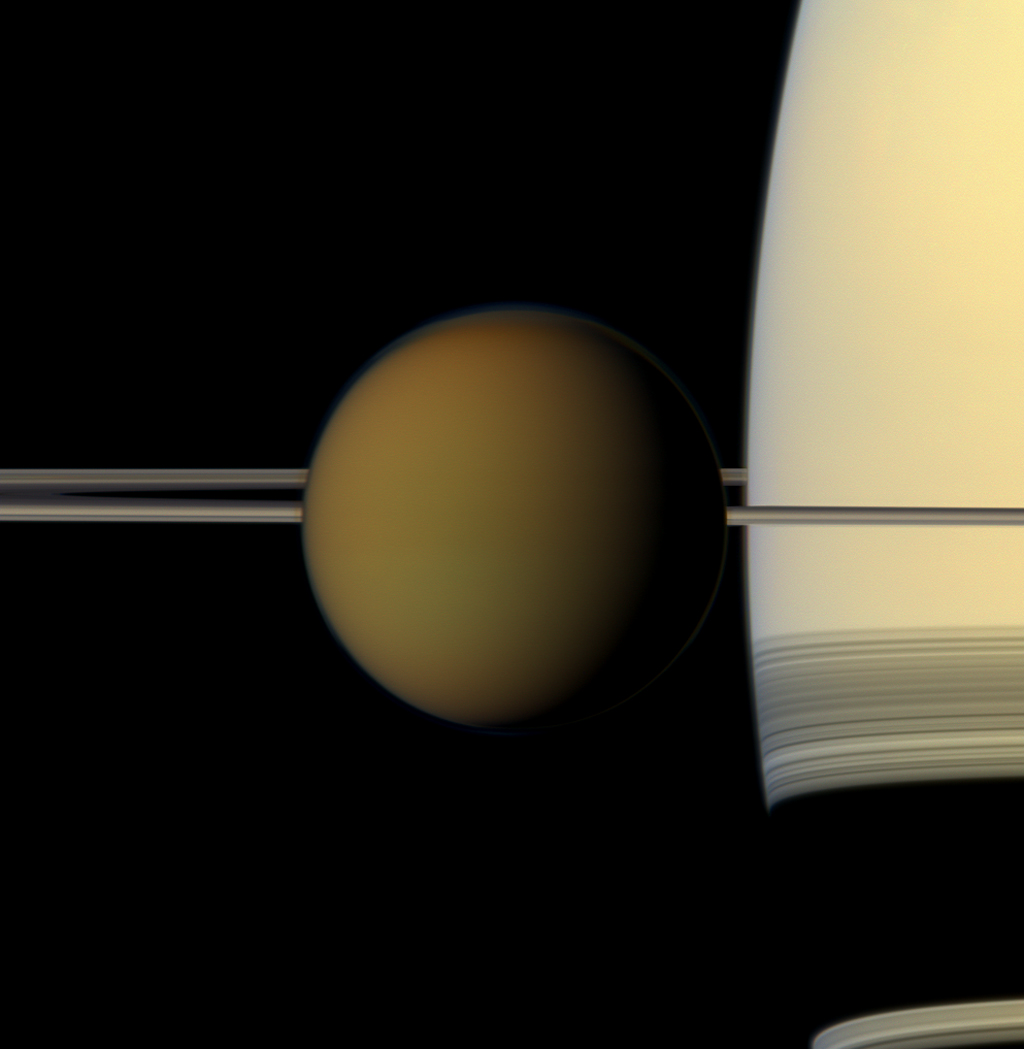 'Impossible' Cloud On Saturn's Moon Titan May Resemble Earth's Ozone Killers