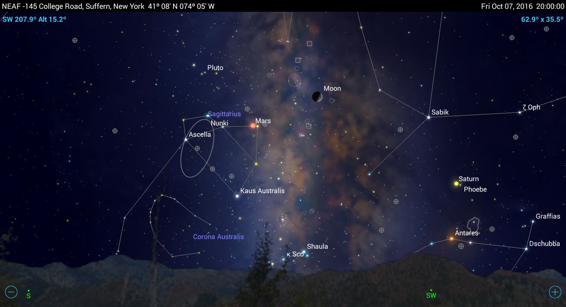 Seeing into the Distant Past with Mobile Astronomy Apps