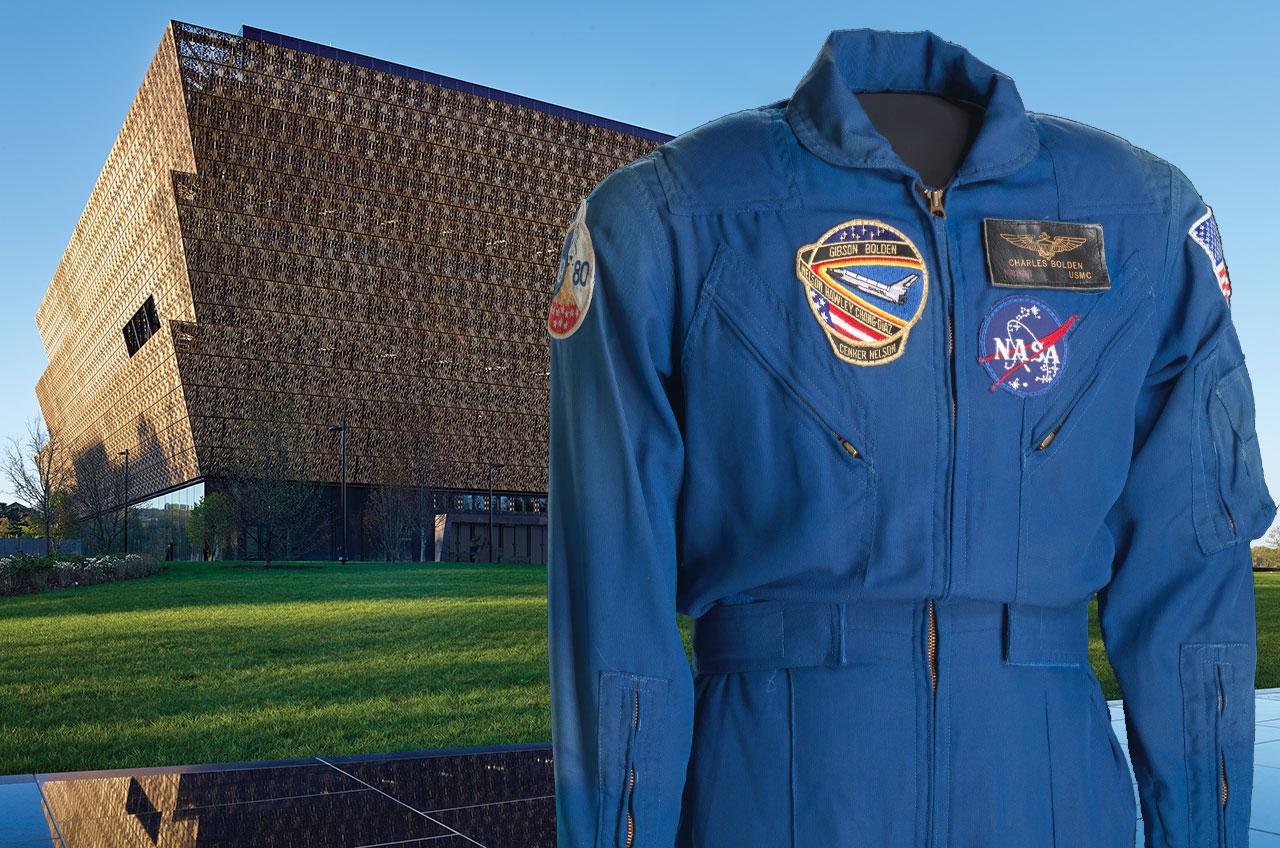 Charles Bolden's astronaut flight suit