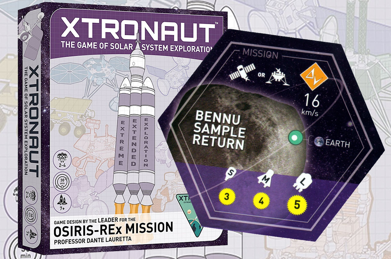 Playing Planetary Explorer: Xtronaut Board Game Draws from Asteroid Mission