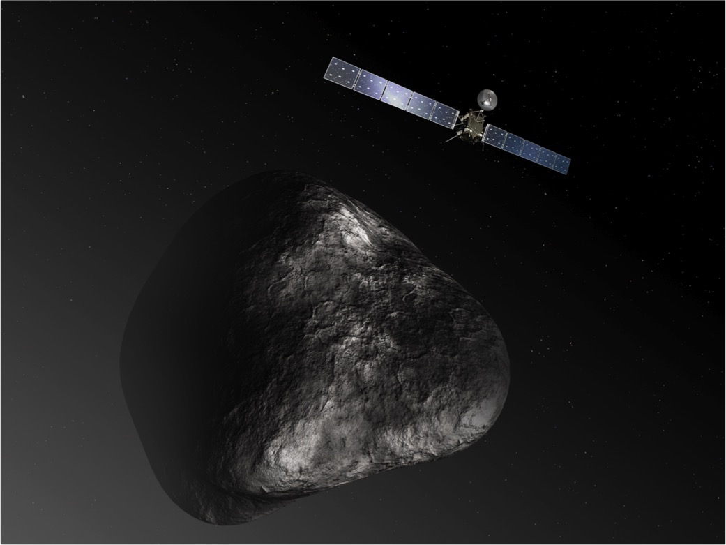 Rosetta plunge to Comet 67P conception