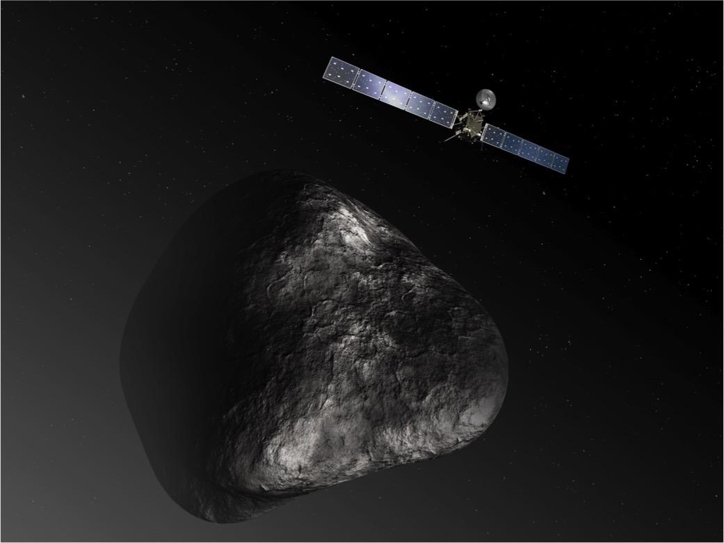 First Comet-Orbiting Spacecraft Set to Crash-Land Friday