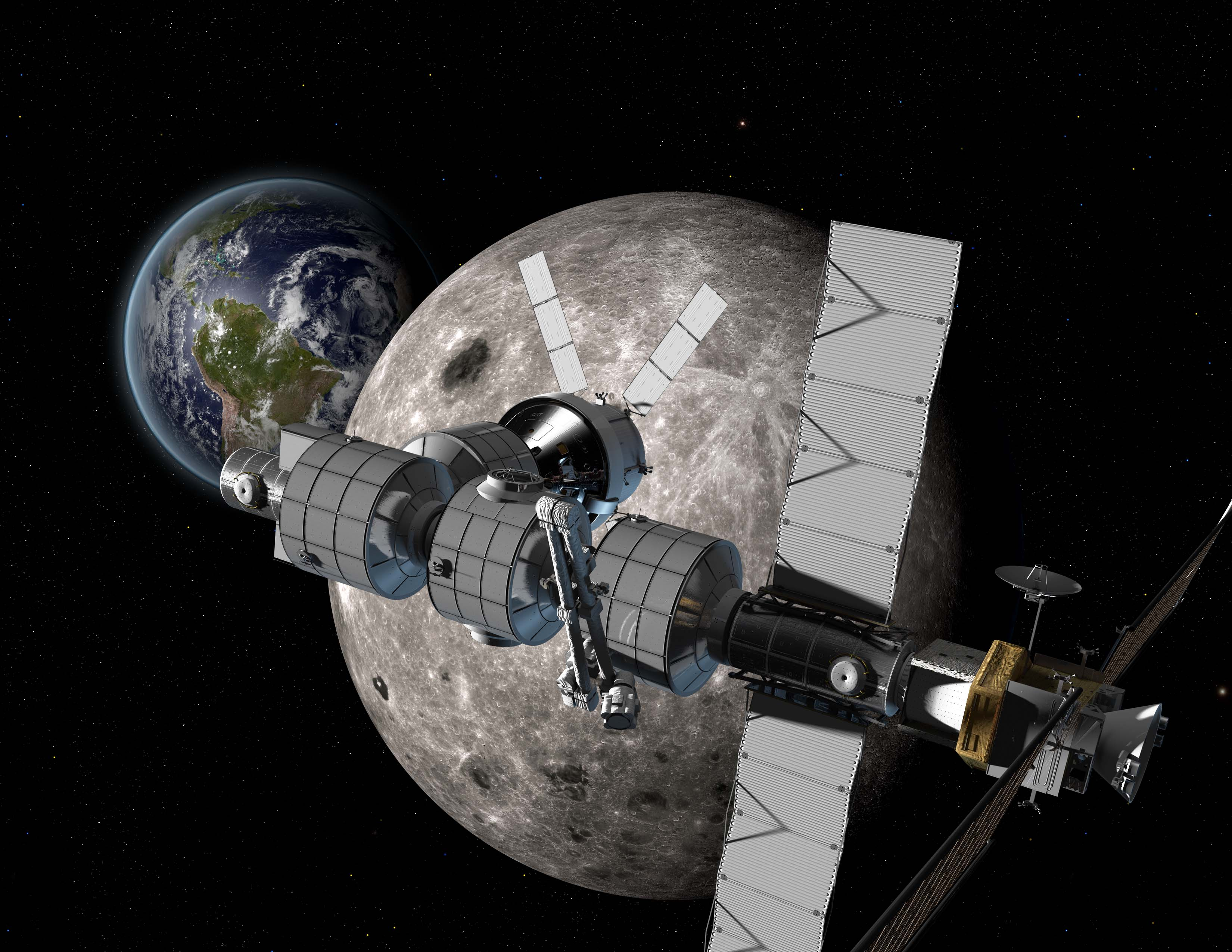 Boeing Eyes Moon-Orbiting Space Station as Waypoint to Mars