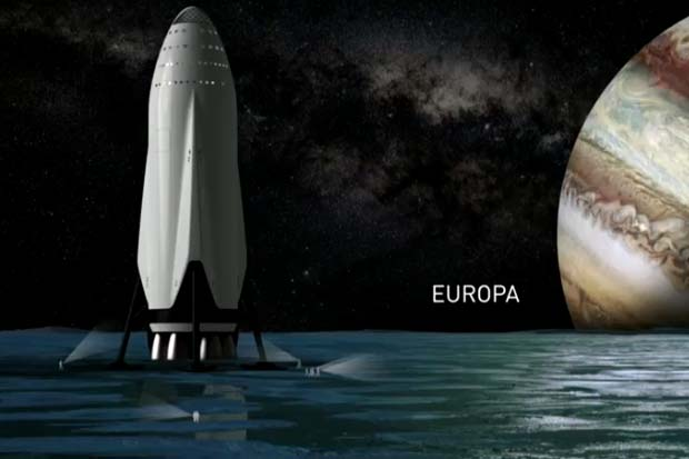 SpaceX's Massive New Spaceship Could Go Beyond Mars | Video