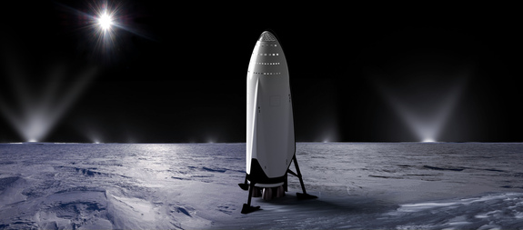 spacex interplanetary transport enceladus