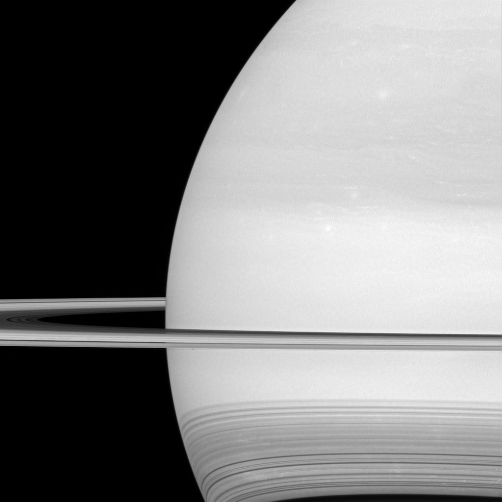 Saturn's Shadow Illusion