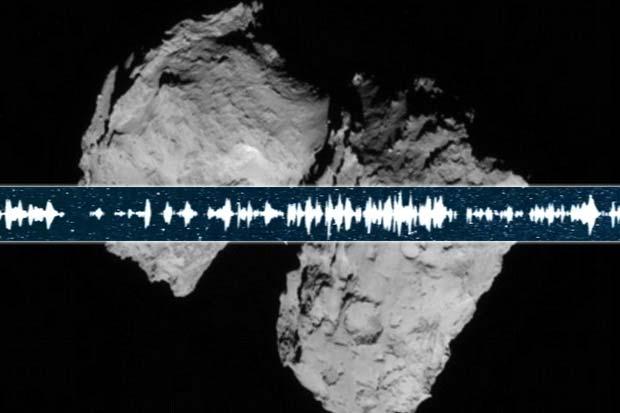 Comet 67P 'Sang' For Rosetta Probe | Video