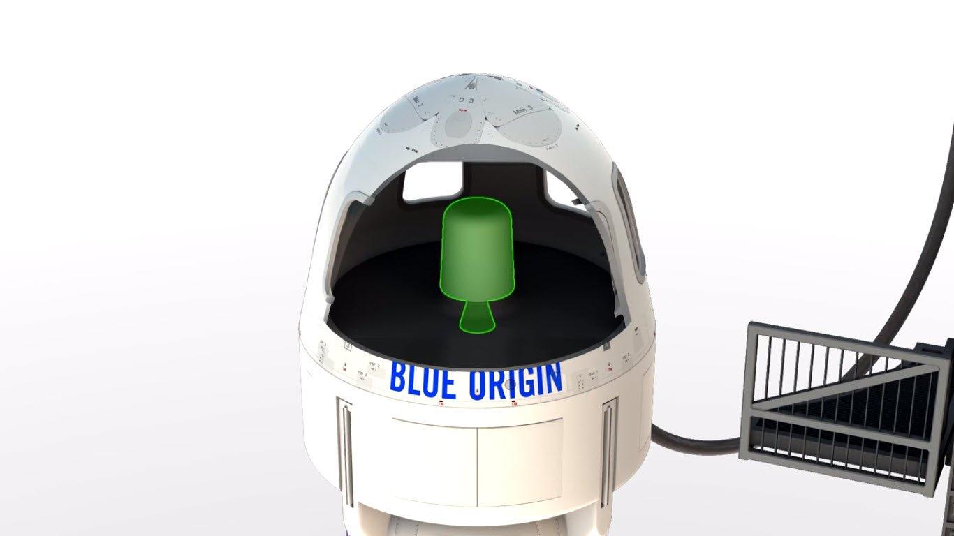 New Shepard's Escape Motor