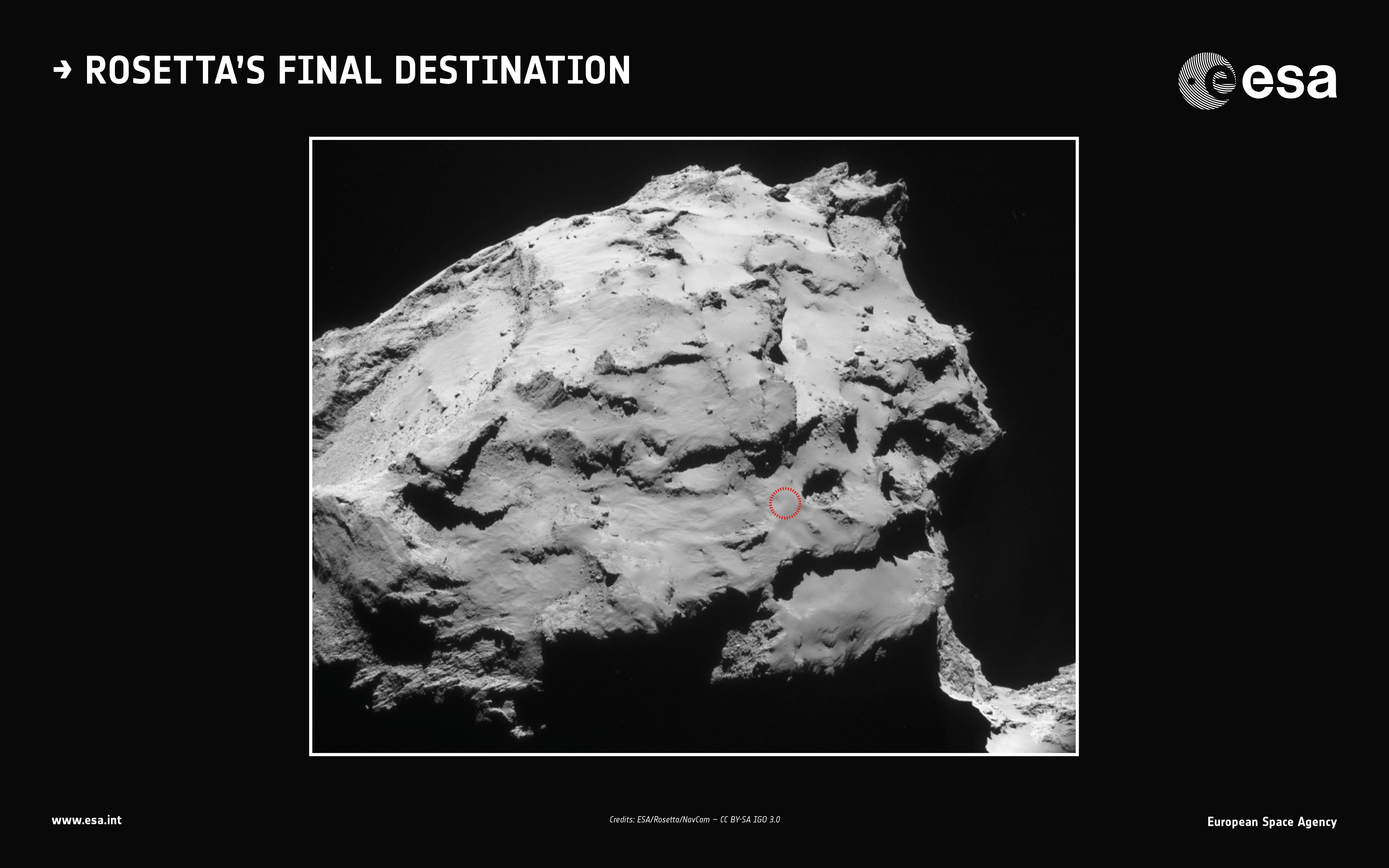 Rosetta Comet Spacecraft Is About to Plunge to Its Death