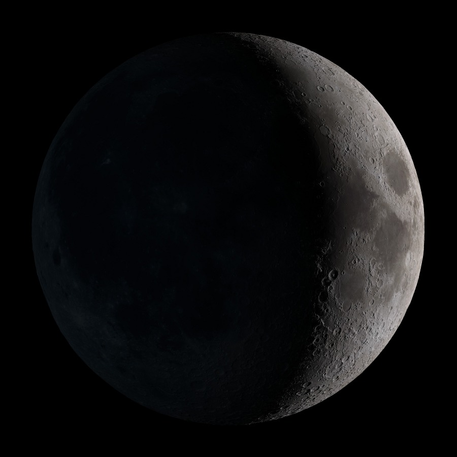 WATCH LIVE MONDAY @ 3pm ET: The Black New Moon Webcast by Slooh