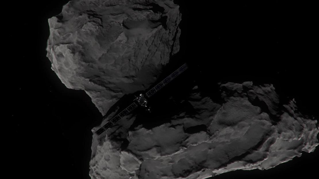 In Images: Rosetta Spacecraft's Last Comet Photos During Crash-Landing