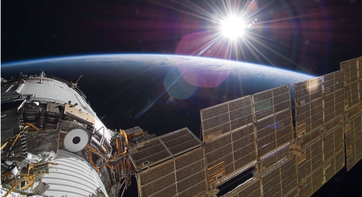 'UFO' Seen in Live Space Station Video Is Just Fluff
