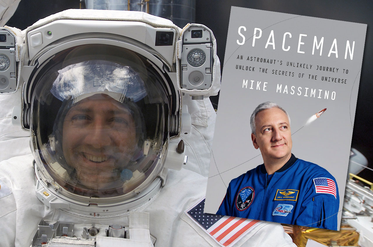 Astronaut Mike Massimino's New Mission: Launching His Book 'Spaceman'