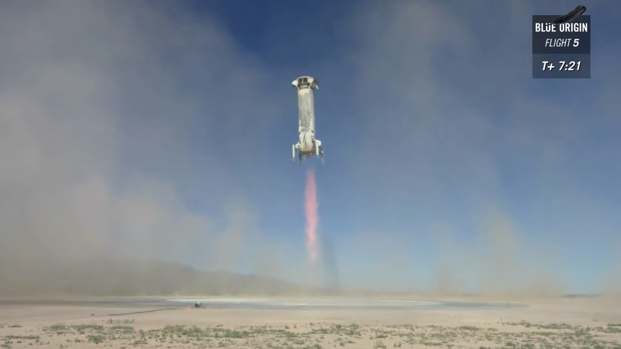 Blue Origin launching people to space