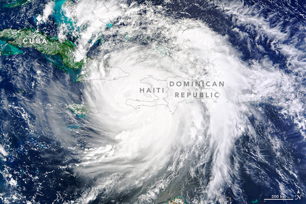 Hurricane Matthew Swirls Toward US in New Satellite Photos