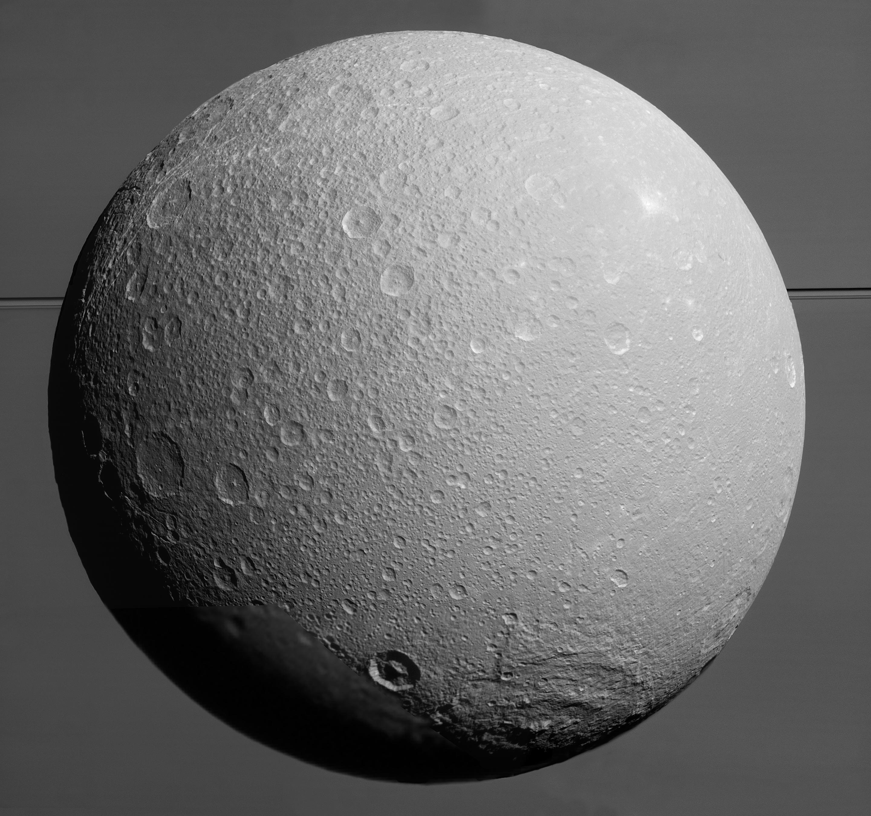 Saturn's Moon Dione Probably Has a Buried Ocean, Too