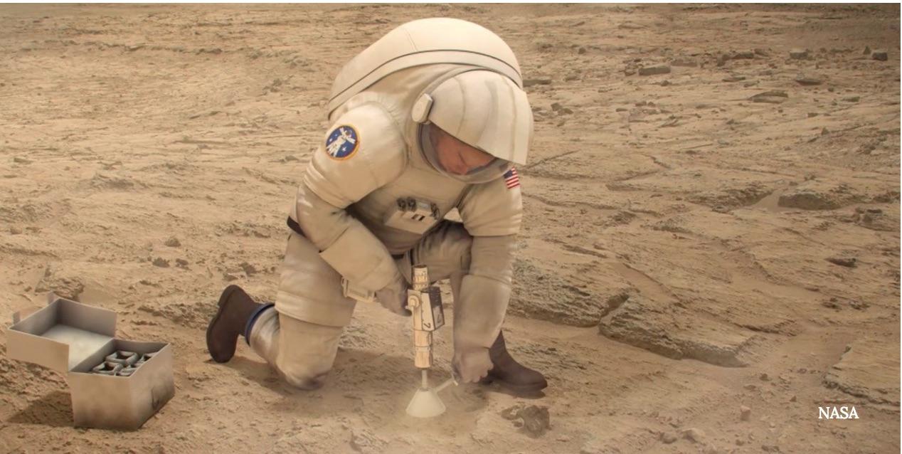 NASA's Hi-Tech Gauze Could Heal Wounded Mars Astronauts