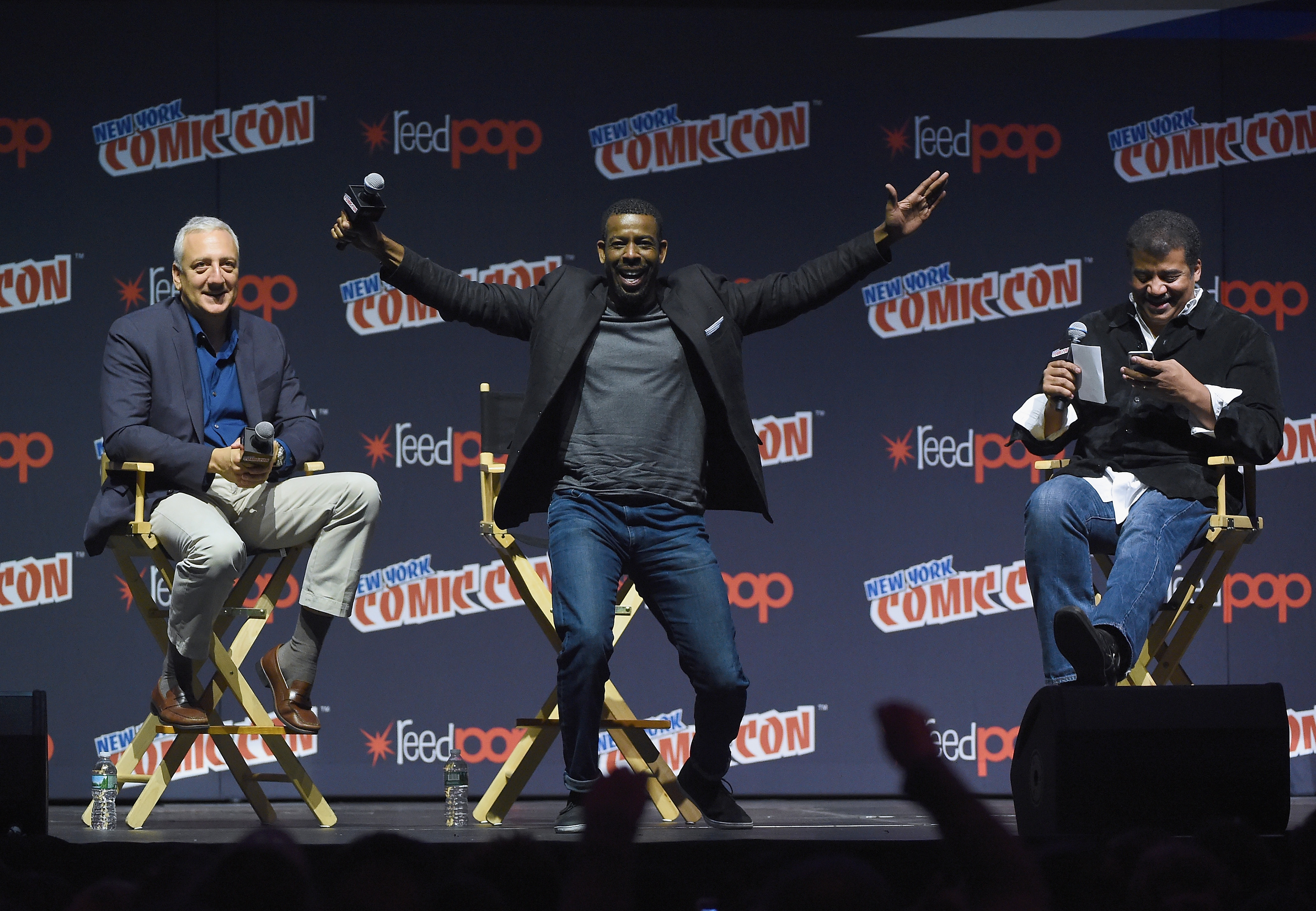 'StarTalk' Makes Space a Laughing Matter at New York Comic Con