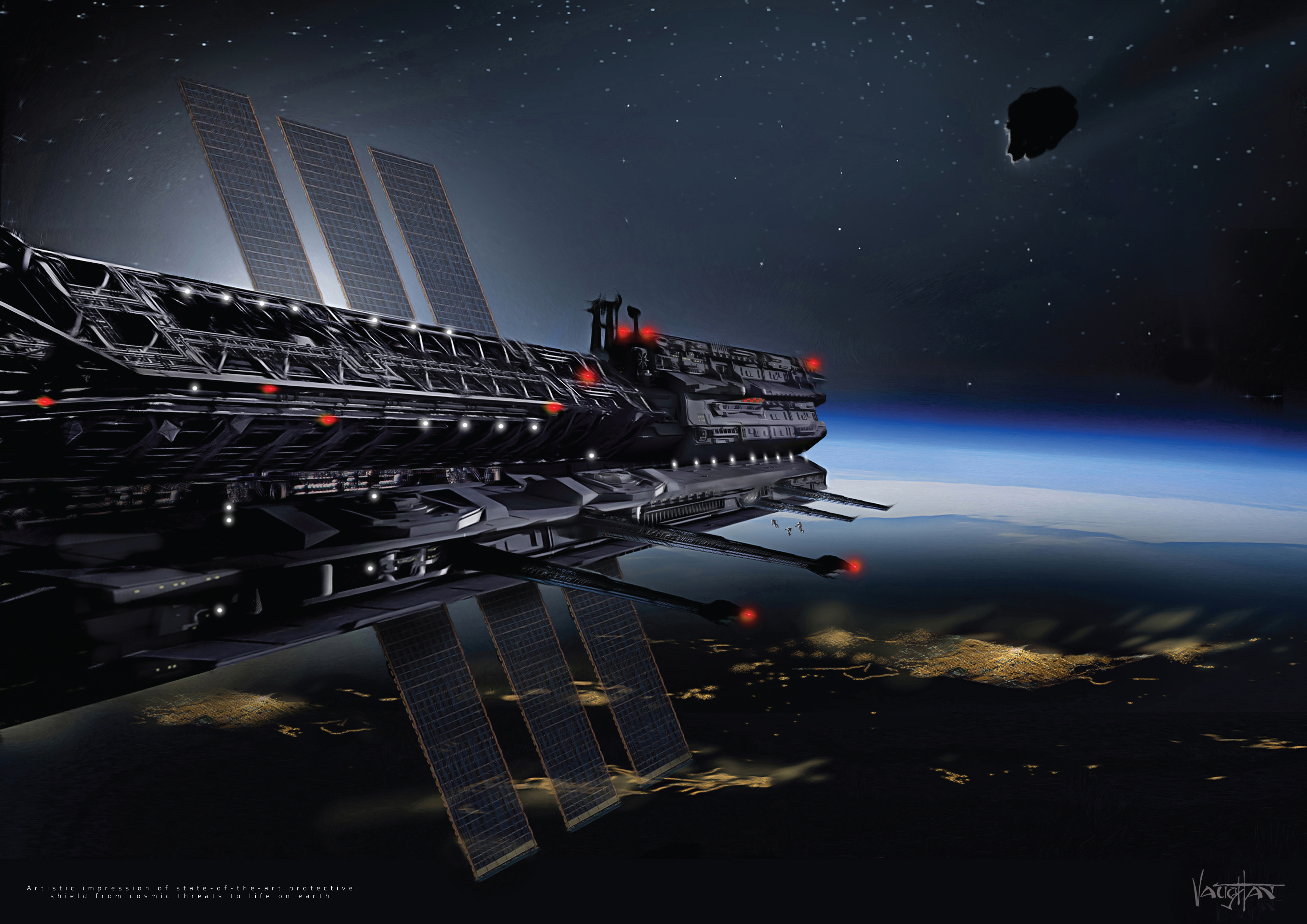 Asgardia space station credit to james vaughan