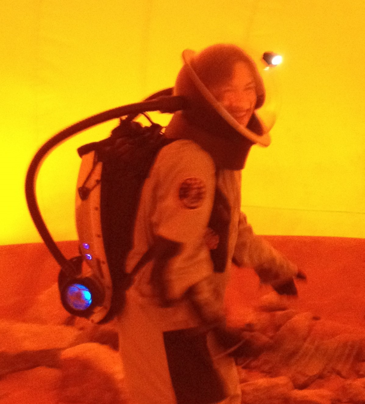 Notes from Mars 160: Going Outside for a Marswalk