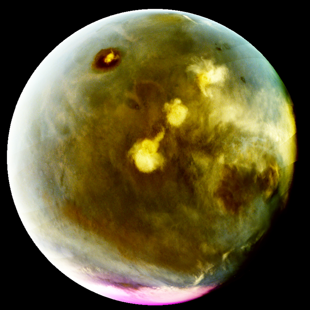 Gorgeous Mars 'Nightglow' Spotted by NASA Orbiter (Photos, Video)