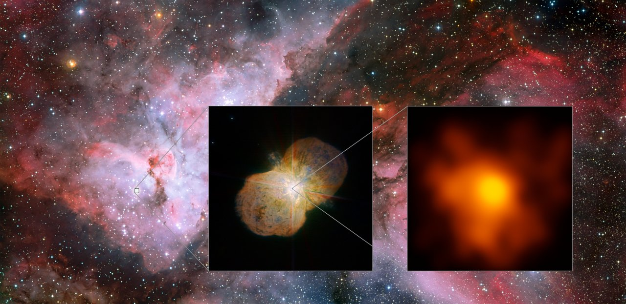Explosive Star System's Turbulent Relationship Revealed in Best View Yet