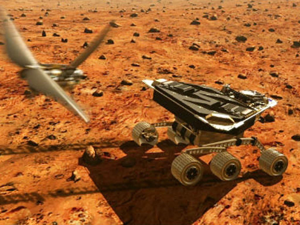 Red Planet Express: 10 Ways Robots Move on Mars