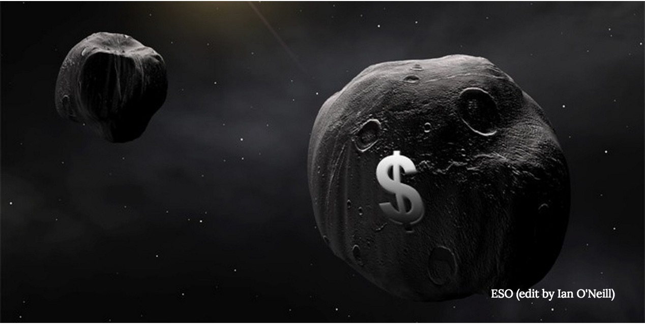 Looting Asteroids' Water Will Make Launches Cheaper