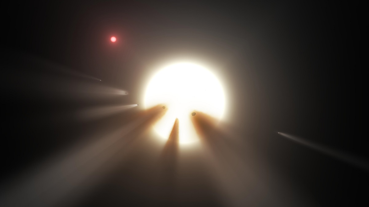 'Alien Megastructure' Star